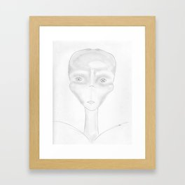 De Casiopea Framed Art Print
