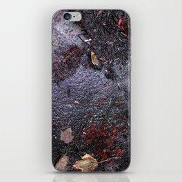 Grimey things iPhone Skin
