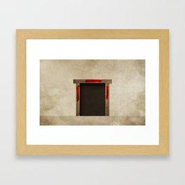 Exodus 12:7 Framed Art Print