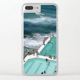 Bondi Icebergs Clear iPhone Case