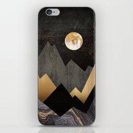 Metallic Night iPhone Skin