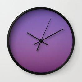 Gloaming Gradient II Wall Clock