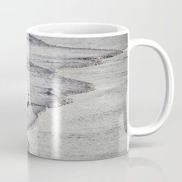 Heron On The Beach Coffee Mug