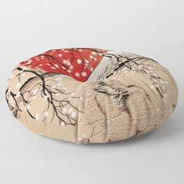 Japan Fishermen Floor Pillow