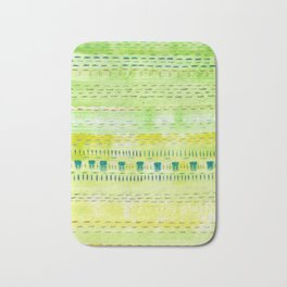 Meadow Stitch Bath Mat
