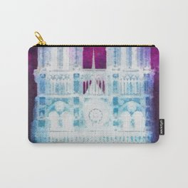 Notre Dame Night Carry-All Pouch