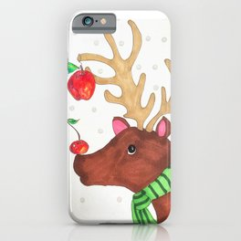 Wishing Rudolf  iPhone Case