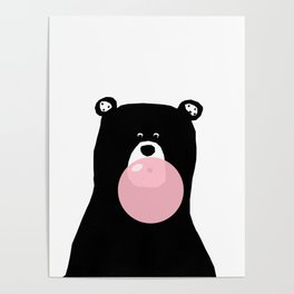 Bear gum Poster