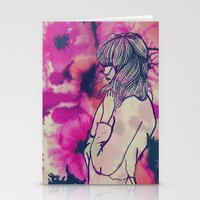 fringe Stationery Cards featuring Fringe by Annaleigh Louise