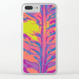 leafy coral Clear iPhone Case
