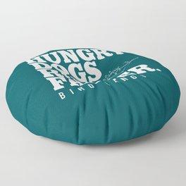 Hungry Dogs Run Faster - Bird Gangs Floor Pillow