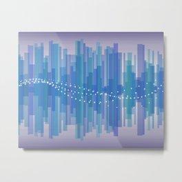 Blasting Waves Metal Print