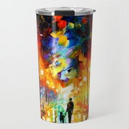Tardis Art Watching Travel Mug