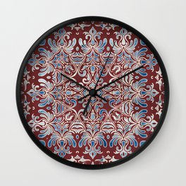 Geometry In Bloom Wall Clock