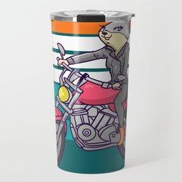 motorcycle, motorcycle driving Travel Mug