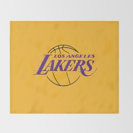 LA LAKERS LOGO Throw Blanket