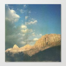 Soaking up the golden hour Canvas Print