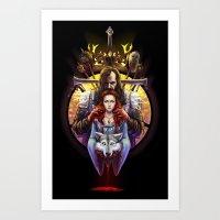 The Blood Maiden Art Print