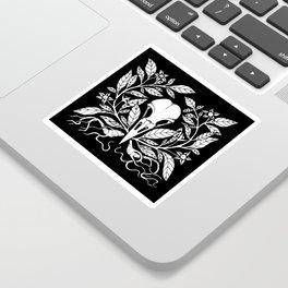 Belladonna Corvidae Sticker