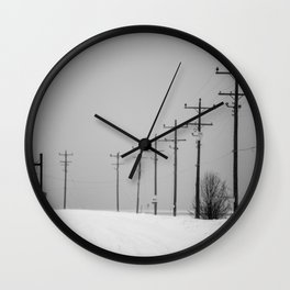 Forty Wall Clock