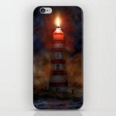 Das brennende Leuchtsignal iPhone & iPod Skin