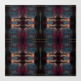 Multiplied Patriot Games Canvas Print