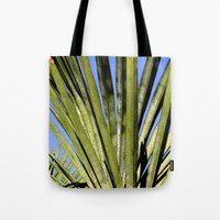 palm Tote Bags featuring Palm by Boris Burakov