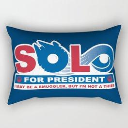 Solo for President Rectangular Pillow