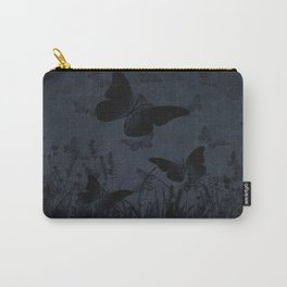 Night Falls On The Meadow Carry-All Pouch