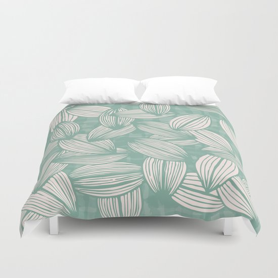 leavesfall Duvet Cover