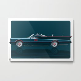 Batmobile 1966 Metal Print