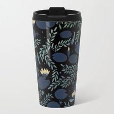 night waterlily Travel Mug