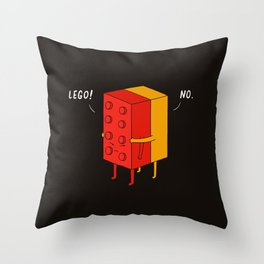 I'll never let go Throw Pillow