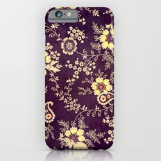 VINTAGE FLOWERS VIII - for iphone Slim Case iPhone 6