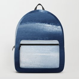 Blue Abstract Watercolor 3, Art Print By Synplus Backpack