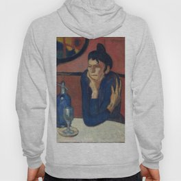 THE ABSINTHE DRINKER - PABLO PICASSO  Hoody