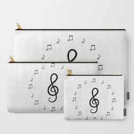 Violin key and notes design Carry-All Pouch
