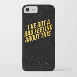 STAR.WARS. Bad Feeling iPhone Case