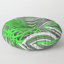 Plastic and metal springs and coils Floor Pillow