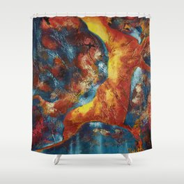Cave Dweller One Shower Curtain