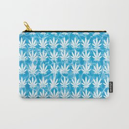 Poolside in White Carry-All Pouch