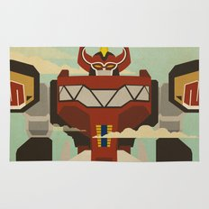 The Mega of the Zords Rug