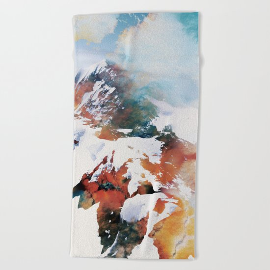 Mountain 2 Beach Towel