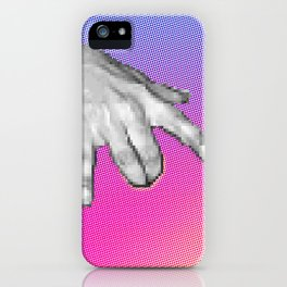 Computational Fingerbang iPhone Case