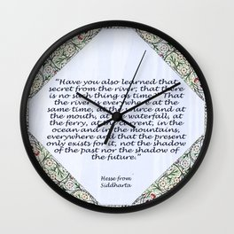 Words from the wise Wall Clock