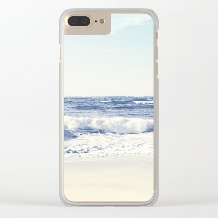 North Shore Beach Clear iPhone Case