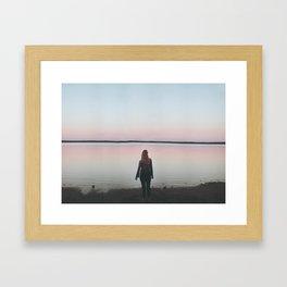 Tranquility at Dusk Framed Art Print