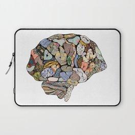 My Brain Looks Different Laptop Sleeve