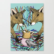 Cunning Disguise Canvas Print