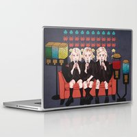 ahs Laptop & iPad Skins featuring AHS Hotel by minniemorrisart